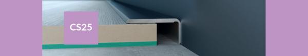 Završni profili ARBITON CS25 duljine 120cm/200cm, širine 25mm