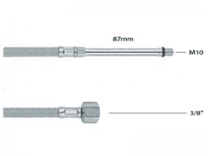 """Crijevo fleksibilno za miješalicu (slavinu) 10x3/8"""" 500mm prod.87mm FB50381EX"""