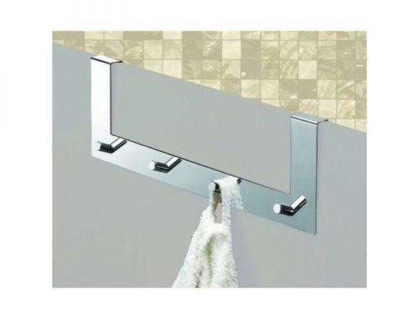 Jednostavna moderna vješalica za vrata GEDY 2124 13
