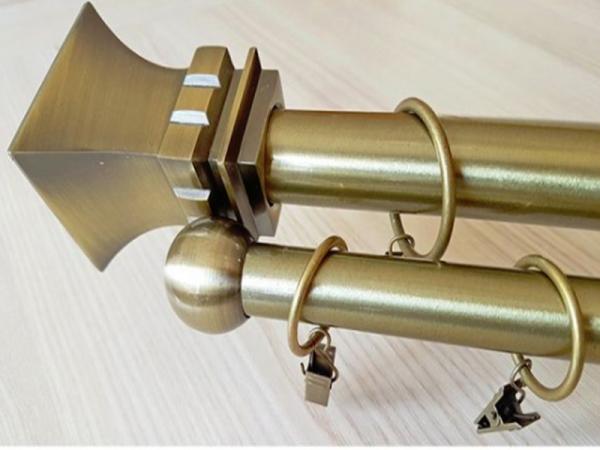 Karniša antik mesing metalna Dawi d=25