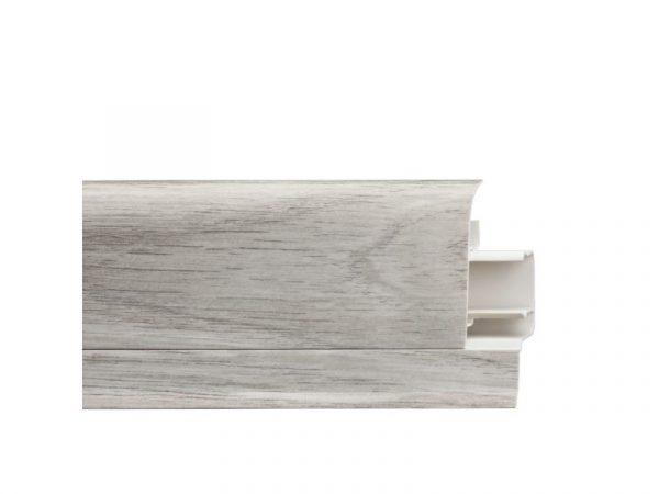 Lajsna za laminat ARBITON LM 60 duljina 2,5m bijela - visina 60mm