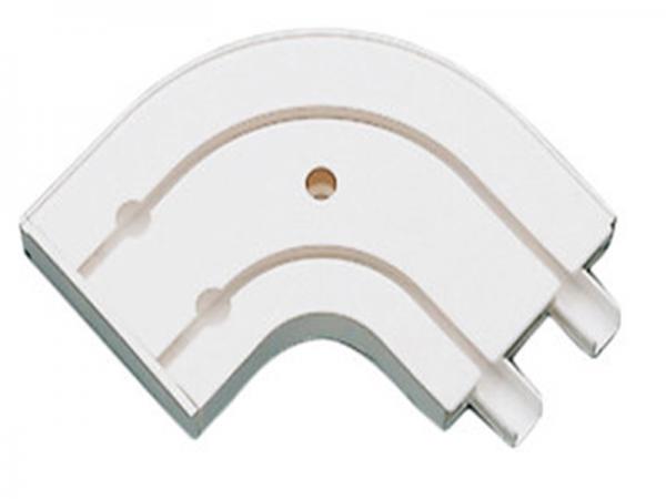 Luk završni 2/1 za PVC karnišu 2-kanalni