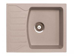 Sudoper pravokutni granit sivi METALAC Quadro M GR-144116