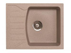 Sudoper pravokutni granit bež METALAC Quadro M GR-144120
