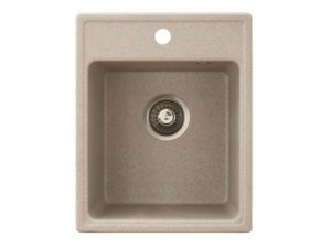 Sudoper pravokutni granit bež METALAC Quadro 40 GR-152983