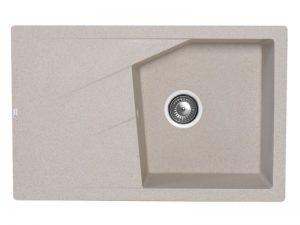 Sudoper pravokutni granit bež METALAC Linea Plus GR-188628
