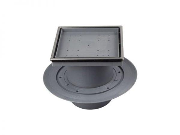 Sifon vertikalni 100x100mm sa okvirom Confluo 13000099