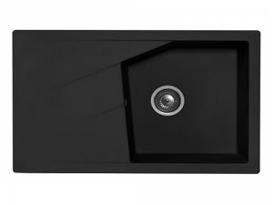 Sudoper pravokutni granit crni METALAC Linea Plus GR-188622
