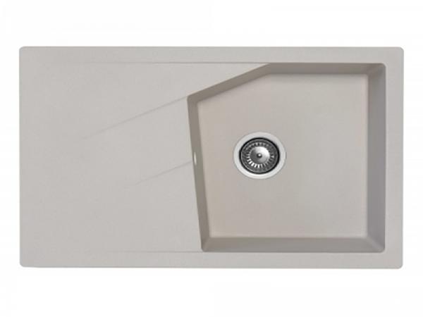 Sudoper pravokutni granit sivi METALAC Linea Plus GR-188627