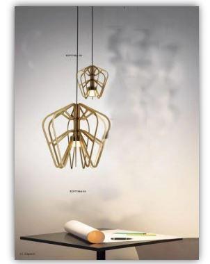 Moderna kvalitetna visilica Brass ima suvremeni dizajn