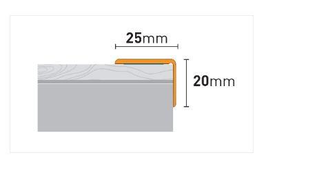 Lajsna aluminijska ARBITON CS3