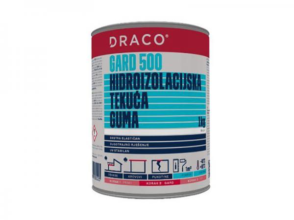Hidroizolacija DRACO Gard 500 bijeli ili sivi 1kg