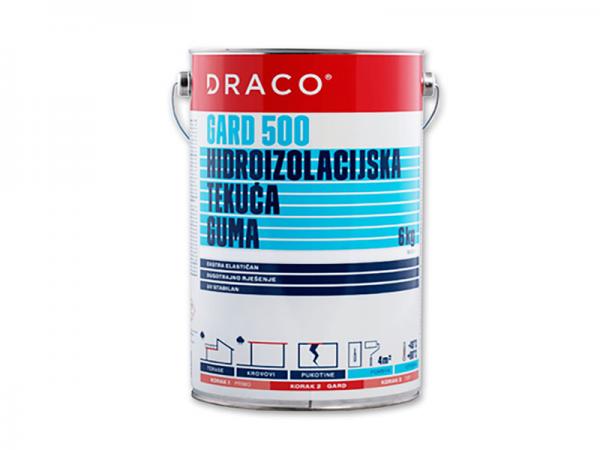 Hidroizolacija DRACO Gard 500 bijeli ili sivi 6kg