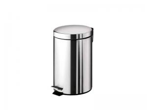 Kvalitetna moderna okrugla kanta za smeće 3l GEDY Aragenta 2609 13
