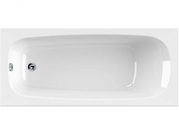 Korana pravokutna kupaonska kada jednostavnih skladnih linija