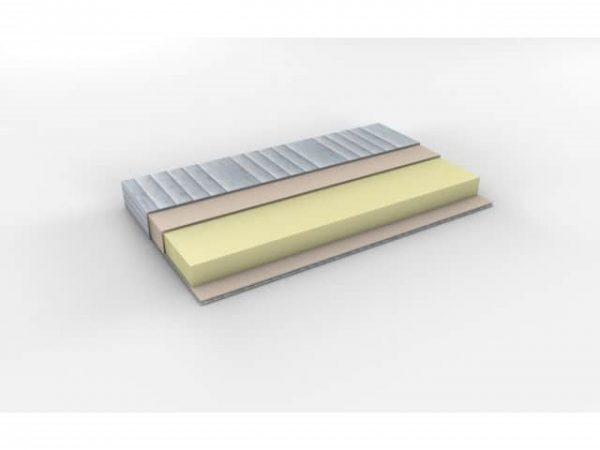 Ručno rađen nadmadrac Memory 5 cm