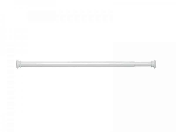 Kvalitetan jednostavan nosač zavjese 80/135 bijeli GEDY TEST700 02