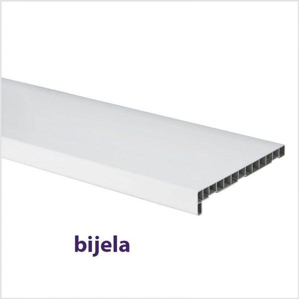 Prozorske unutarnje PVC klupice bijele