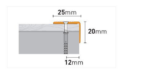 Profili za stepenice ARBITON PS2