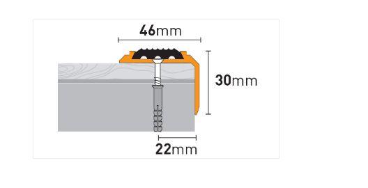 Profili za stepenice ARBITON PS6