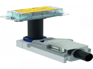 Komplet ugradni za tuš kanalice 65–90mm GEBERIT iz linije Cleanline