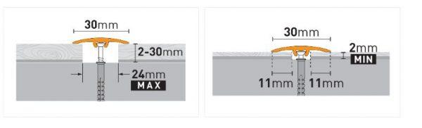 Dilatacijski profili ARBITON SM1