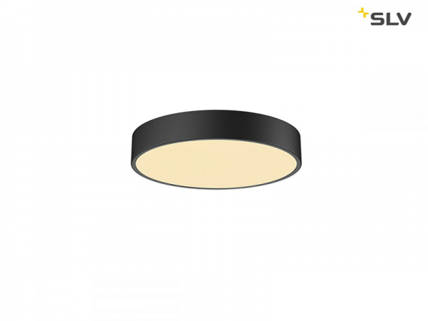 Stropna svjetiljka crna Medo 30cm/40cm/60cm CW SLV