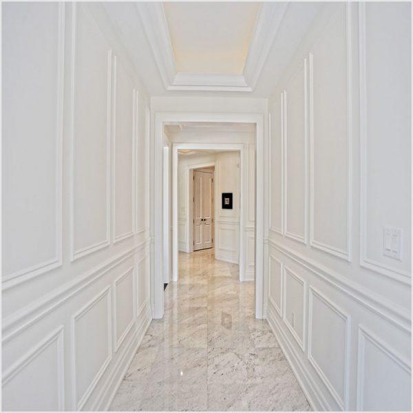 Zidna lajsna Profifloor bijela duljine 2,0m