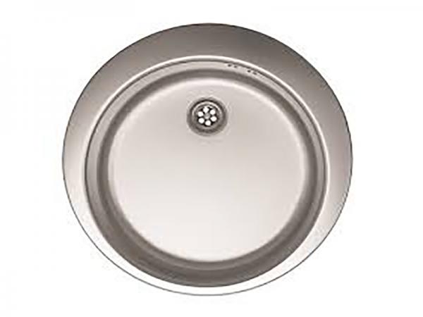 Sudoper bez rupe okrugli inox METALAC Venera 480E IN-007600