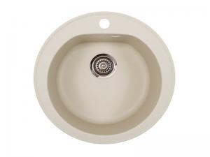 Sudoper okrugli s rupom granit bež METALAC Venera GR-113004