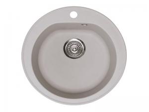 Sudoper okrugli s rupom granit sivi METALAC Venera GR-113003