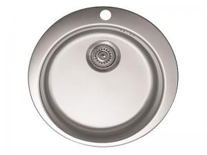 Sudoper okrugli s rupom inox METALAC Venera 480E IN-030190