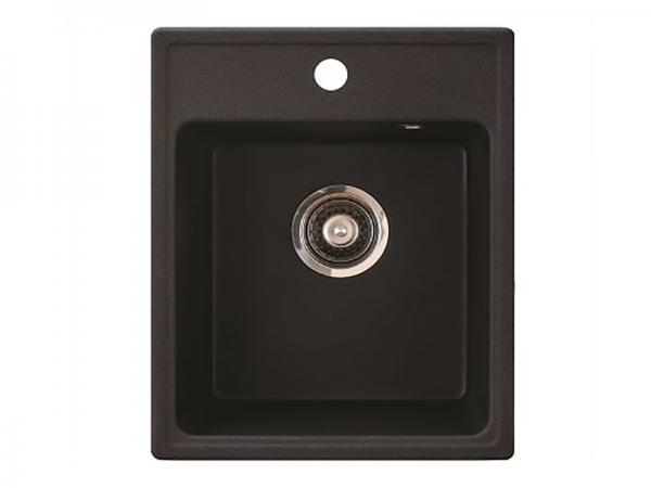 Sudoper pravokutni granit crni METALAC Quadro 40 GR-152981