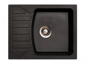 Sudoper pravokutni granit crni METALAC Quadro M GR-144118