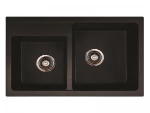 Sudoper pravokutni granit METALAC Quadro Plus 2D GR-171004