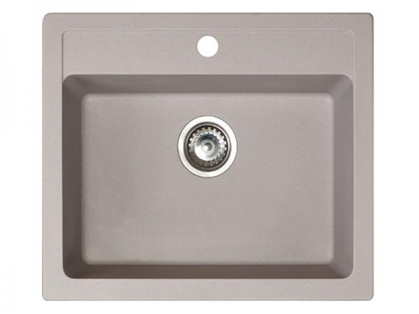 Sudoper pravokutni granit sivi METALAC Quadro 60 GR-161966