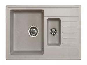 Sudoper pravokutni METALAC Quadro Plus GR-158550 1.5d