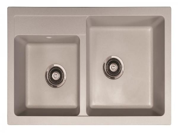 Sudoper pravokutni granit METALAC Quadro Plus GR-171005