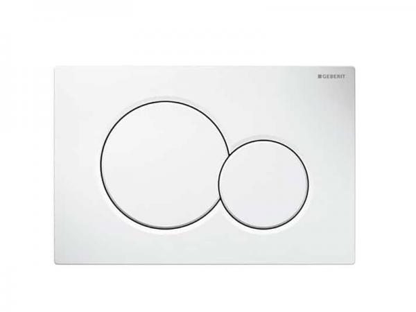 Moderna tipka GEBERIT Sigma 01 bijela za vodokotlić 115.770.11.5