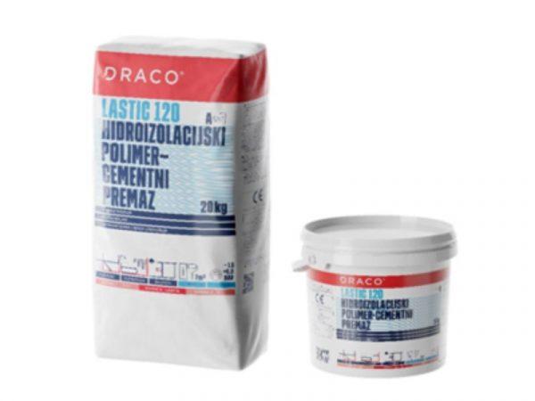 Hidroizolacijski premaz DRACO Lastic 120 A(20kg) + B(5kg) 25kg
