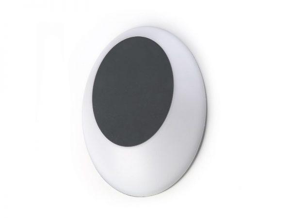 Vanjska lampa SR81206 tamno siva