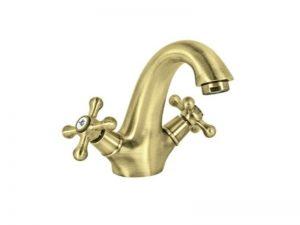 Miješalica (slavina) za umivaonik fiksni izljev ROSAN Brontee Dvor. NB21101