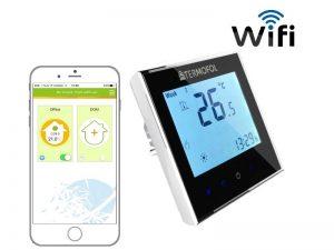 Termostat digitalni Wi-Fi TERMOFOL s mogućnošću programiranja grijanje s aplikacijiom Wi-Fi TERMOFOL