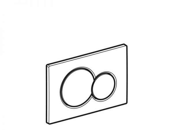 Tipka GEBERIT Sigma 01 115.770.dw.5 crna A05972