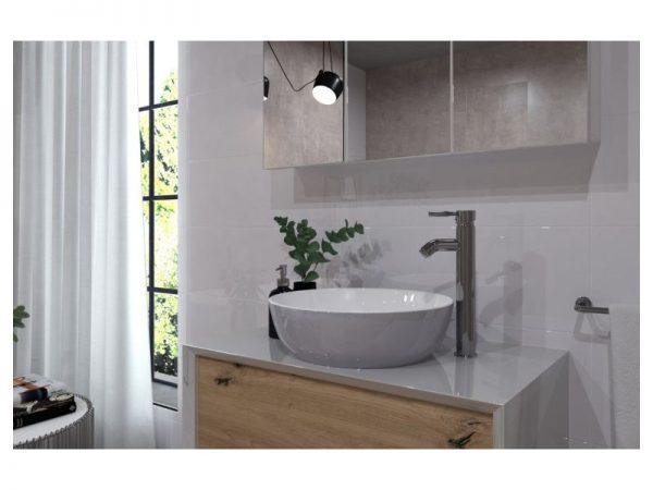 Miješalica (slavina) za umivaonik visoka VOXORT Glem 70053B N11830