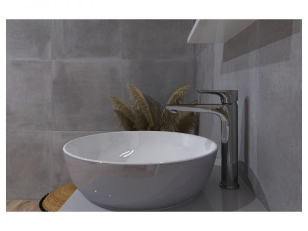 Miješalica (slavina) za umivaonik visoka VOXORT Dolphin 723A3 N11831