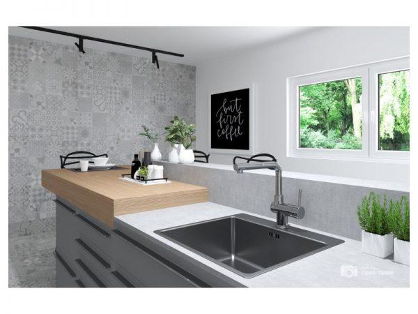 Miješalica (slavina) za sudoper s tušem VOXORT Vila N14448