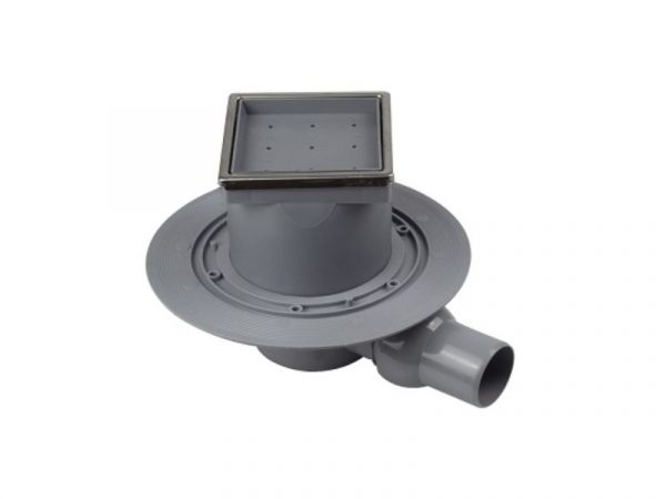 "Sifon horizontalni ""Ceramic Dry1"" 100x100mm 50 1/1 s okvirom Confluo 13000107"