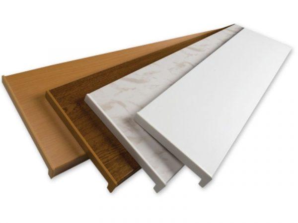 Prozorska unutarnja PVC klupica REHAU bijela