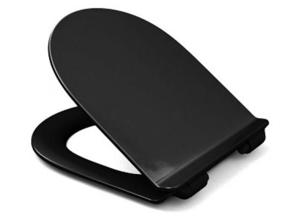WC sjedalo (daska) soft close KANO Eco take off crna H-DME 315 C4501H